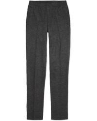 Slim fit herringbone wool trousers medium 328822