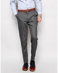 Vintage pants in gray herringbone medium 124320