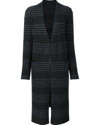 Striped cardi coat medium 830545