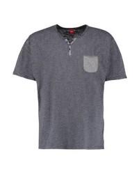s.Oliver Print T Shirt Concrete Grey Melange