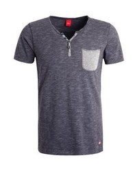 Print t shirt concrete grey melange medium 4160776