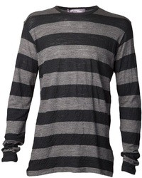 Junya watanabe comme des garons stripe print t shirt medium 10690