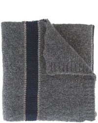 Brunello Cucinelli Striped Knit Scarf