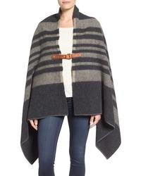 Fireside ii wool blend poncho medium 801922