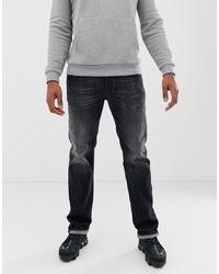 Diesel Larkee Straight Fit Jeans In 087am Grey