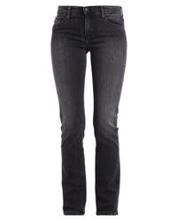 Mid rise straight straight leg jeans roxy grey medium 4271376