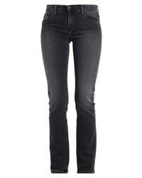 Mid rise straight straight leg jeans roxy grey medium 4271376