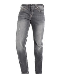 True Religion Rocco Straight Leg Jeans Grey Washed