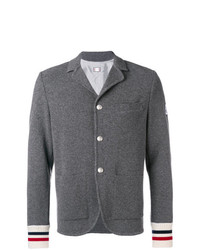 Moncler Knitted Cuff Blazer