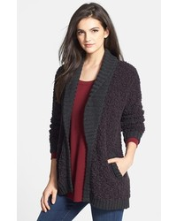 Hinge poodle shawl collar cardigan medium 144008