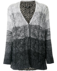 Ombr knitted cardigan medium 4990925
