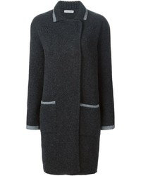Tomas Maier Double Breasted Knit Coat
