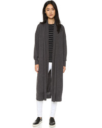DKNY Open Front Cardigan Coat