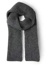 Cedric charlier ribbed knit scarf medium 137032