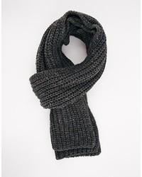 Scarf in wool mix yarn medium 133103