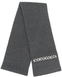 No21 embellished knit scarf medium 4980335