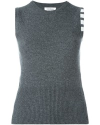 Thom Browne Knitted Sleeveless Top