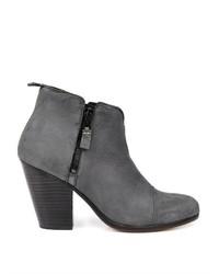 Rag and Bone Rag Bone Margot Nubuck Leather Ankle Boots