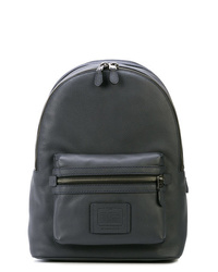 Charcoal Leather Backpack