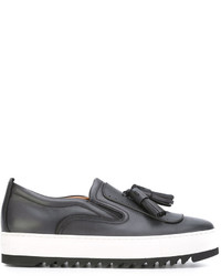 Salvatore Ferragamo Lucca Slip On Sneakers