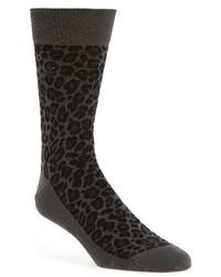 Alexander McQueen Leopard Spot Socks