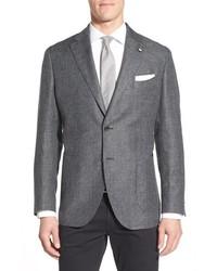 Charcoal Linen Blazer