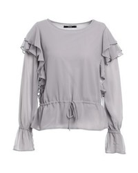 Bt lemmie blouse smoke medium 4243012