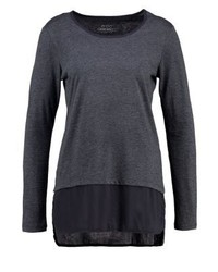 Long sleeved top anthracite medium 3896322