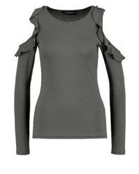 Long sleeved top grey medium 3895813