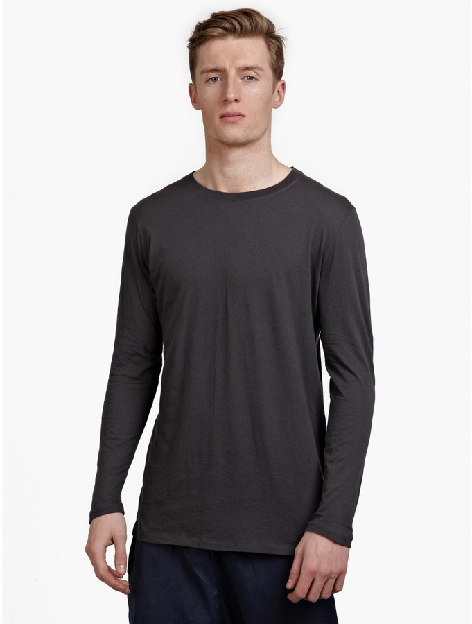 ... Damir Doma Silent Grey Tsolma Long Sleeved T Shirt