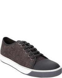 Charcoal Low Top Sneakers