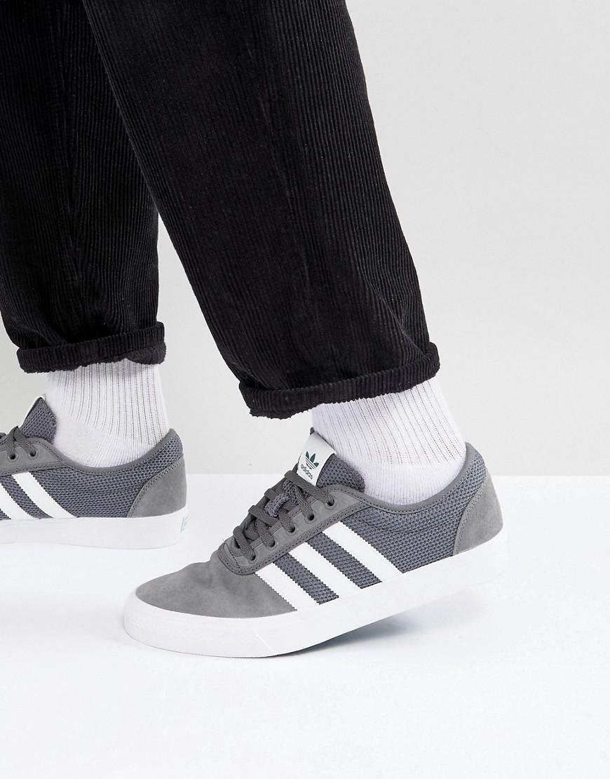 discapacidades estructurales Para estrenar elige auténtico Adidas Skateboarding Adi Ease Trainers In Grey Cq1063, £52 | Asos ...