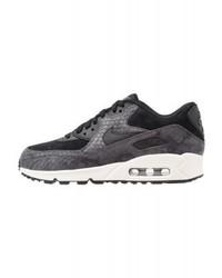 Nike Air Max 90 Premium Trainers Blacksaildark Grey