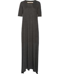 Raquel Allegra Cotton Blend Jersey Maxi Dress
