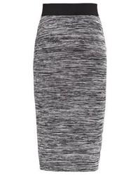 Pencil skirt dark grey melange medium 3935127