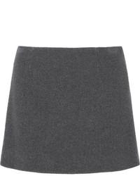 Charcoal Mini Skirt