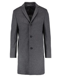 Calvin Klein Carlo Classic Coat Medium Grey