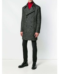 Saint Laurent Chevron Caban Coat