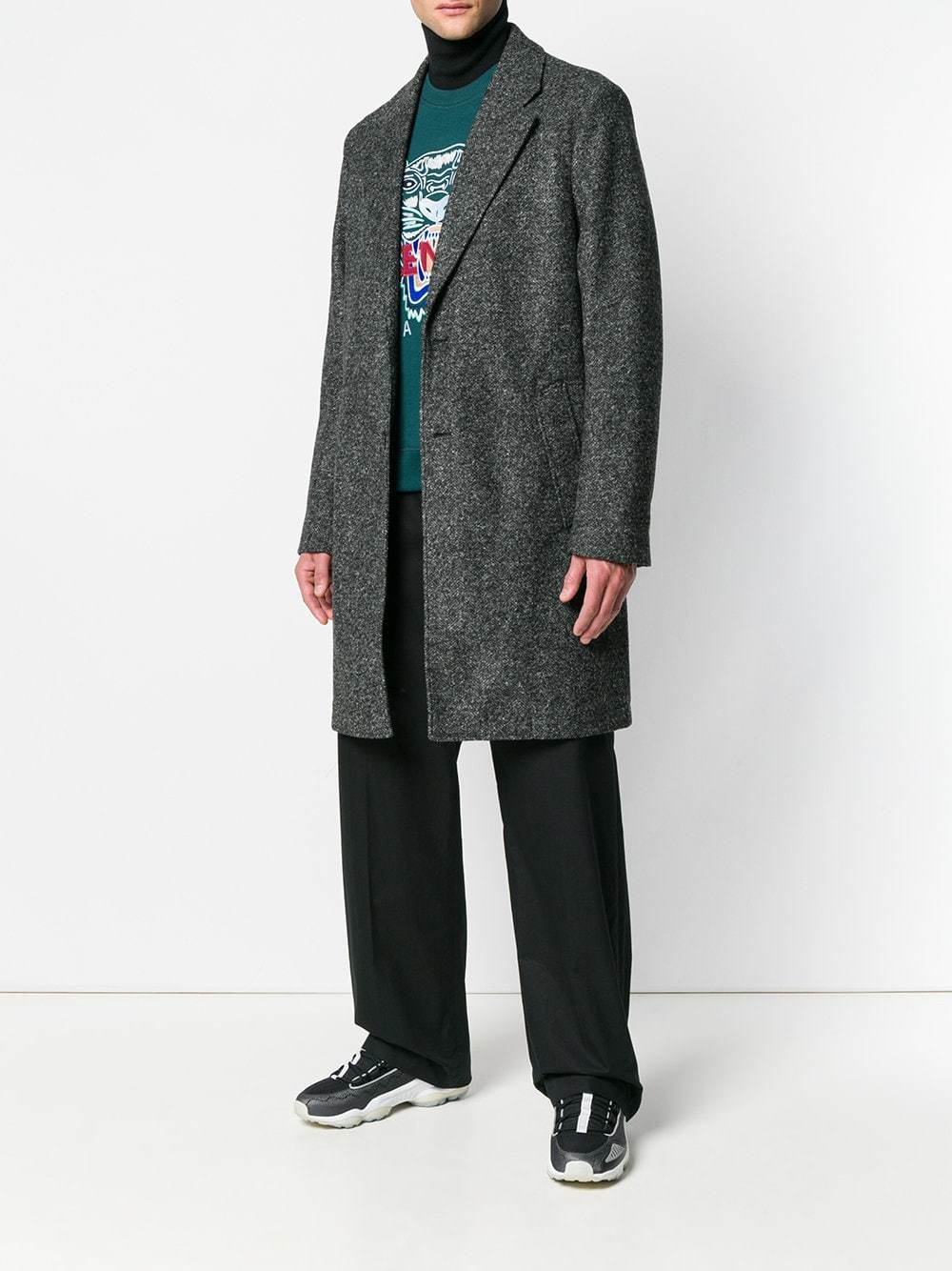 Kenzo Classic Single Breasted Coat