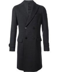 Emporio Armani Double Breasted Overcoat