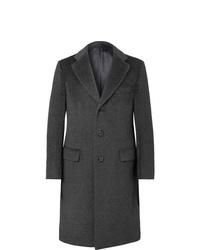 Brioni Llama Hair And Virgin Wool Blend Coat