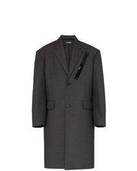 Raf Simons Oversized Single Breasted Wool Coat