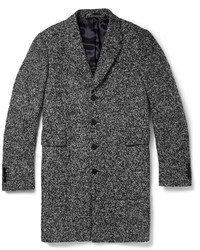 Paul Smith Ps By Boucl Tweed Overcoat