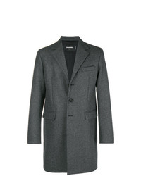 DSQUARED2 Single Breasted Fitted Coat