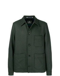 Ps By Paul Smith Single Breasted Fitted Coat