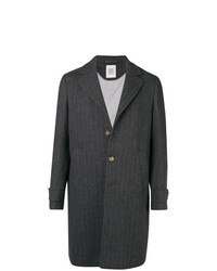 Eleventy Single Breasted Overcoat
