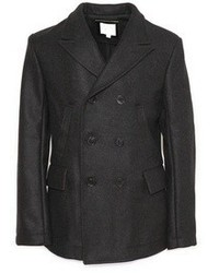 Charcoal pea coat original 2175099