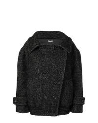 Miu Miu Oversized Double Breasted Short Coat