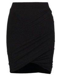 Isa pencil skirt dark grey melange medium 4239398