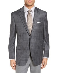 Classic fit plaid sport coat medium 1195374
